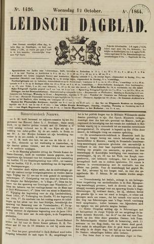 Leidsch Dagblad 1864-10-12