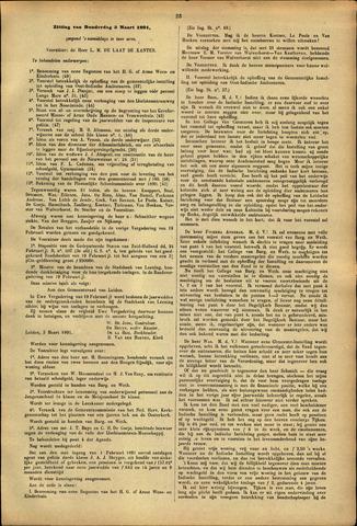 Handelingen van de Raad 1891-03-05
