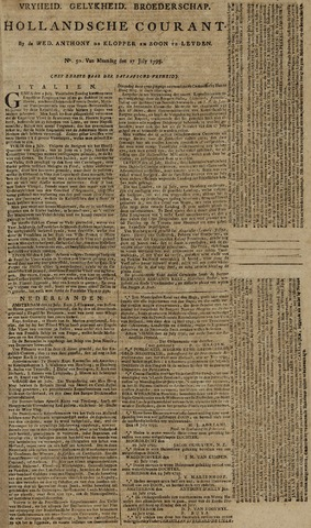 Leydse Courant 1795-07-27