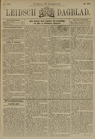 Leidsch Dagblad 1890-08-15