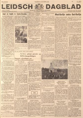 Leidsch Dagblad 1949-10-08