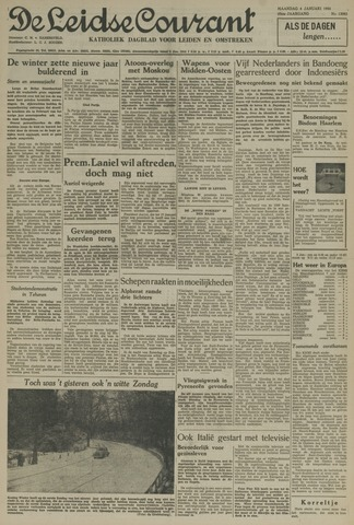 Leidse Courant 1954-01-04