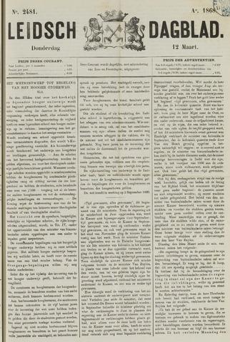 Leidsch Dagblad 1868-03-12