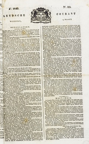 Leydse Courant 1843-03-15