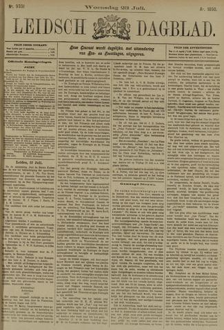 Leidsch Dagblad 1890-07-23