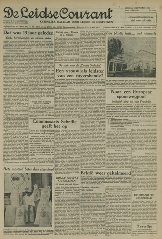 Leidse Courant 1952-09-05
