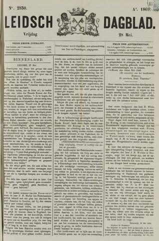 Leidsch Dagblad 1869-05-28