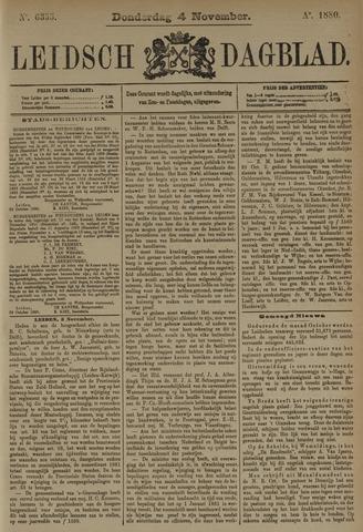 Leidsch Dagblad 1880-11-04