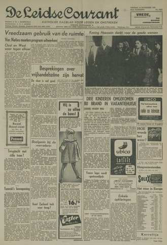 Leidse Courant 1958-11-14