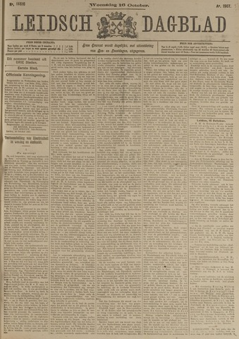 Leidsch Dagblad 1907-10-16