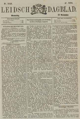 Leidsch Dagblad 1876-11-22