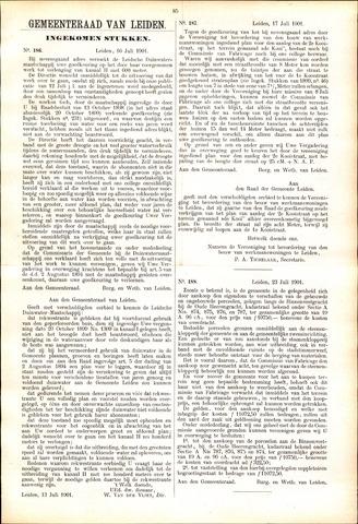 Handelingen van de Raad 1901-07-16