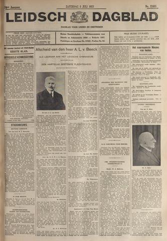 Leidsch Dagblad 1933-07-08