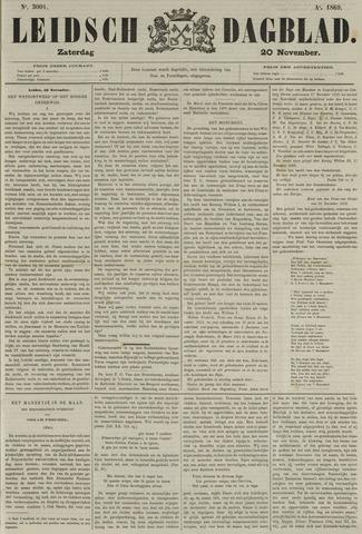 Leidsch Dagblad 1869-11-20