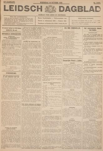 Leidsch Dagblad 1928-10-10