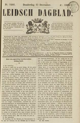 Leidsch Dagblad 1864-12-15