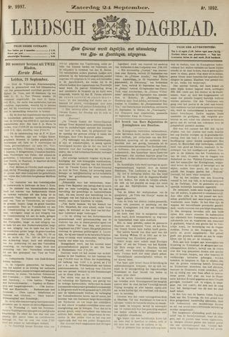Leidsch Dagblad 1892-09-24
