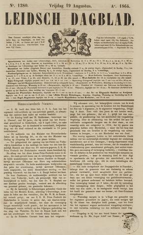 Leidsch Dagblad 1864-08-19