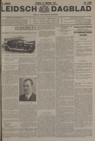 Leidsch Dagblad 1937-02-26