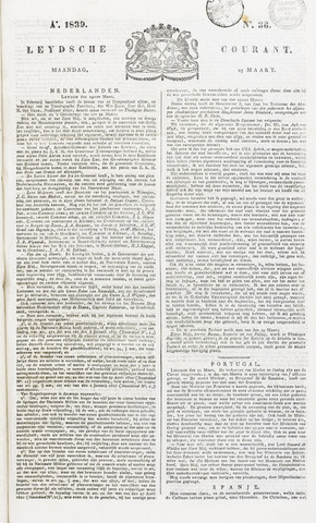 Leydse Courant 1839-03-25