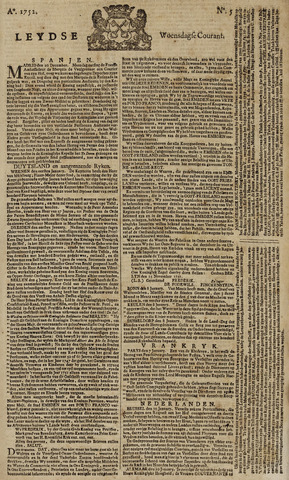 Leydse Courant 1752-01-12