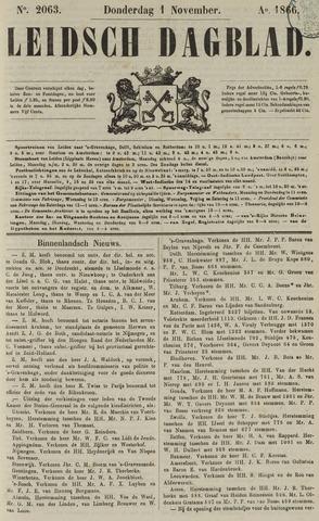 Leidsch Dagblad 1866-11-01
