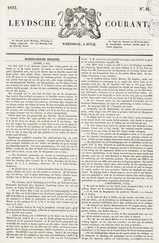 Leydse Courant 1855-07-04