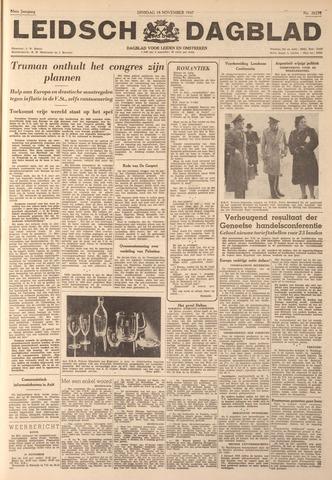 Leidsch Dagblad 1947-11-18
