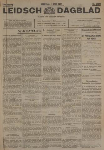 Leidsch Dagblad 1937-04-01