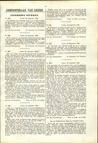Handelingen van de Raad 1906-09-22