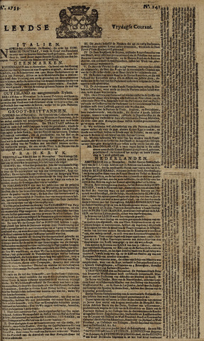 Leydse Courant 1753-11-23