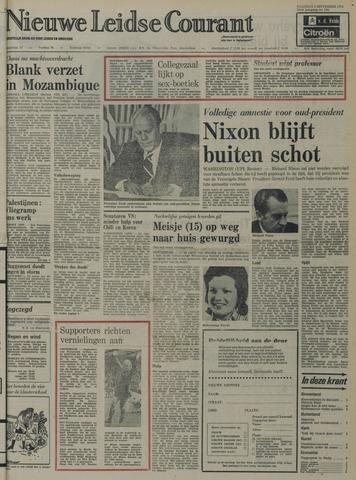 Nieuwe Leidsche Courant 1974-09-09