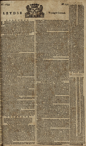 Leydse Courant 1753-11-02