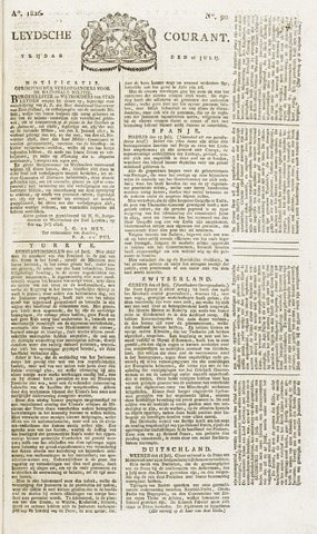 Leydse Courant 1826-07-28