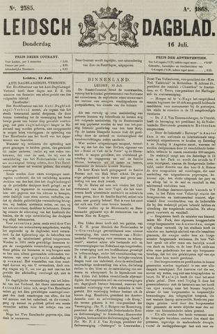 Leidsch Dagblad 1868-07-16