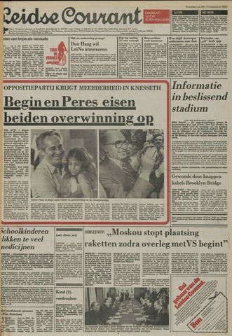 Leidse Courant 1981-07-01