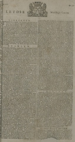 Leydse Courant 1727-09-29
