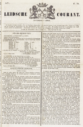 Leydse Courant 1871-04-01