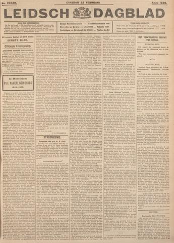 Leidsch Dagblad 1926-02-23