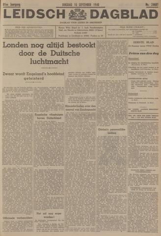 Leidsch Dagblad 1940-09-10