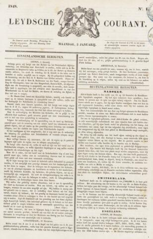 Leydse Courant 1848