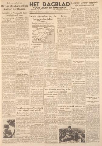 Dagblad voor Leiden en Omstreken 1944-08-17