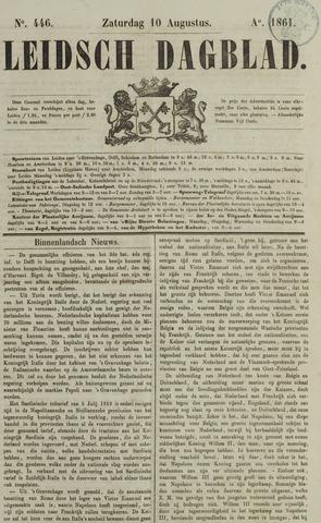 Leidsch Dagblad 1861-08-10