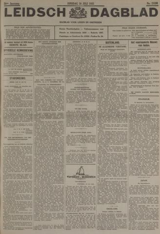 Leidsch Dagblad 1935-07-16