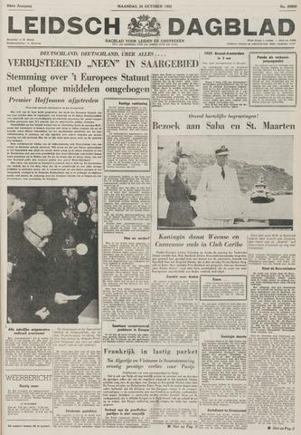 Leidsch Dagblad 1955-10-24