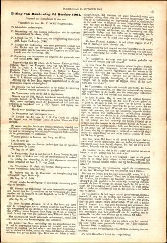 Handelingen van de Raad 1901-10-24