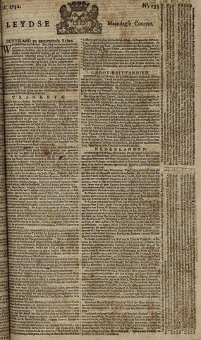 Leydse Courant 1752-11-06