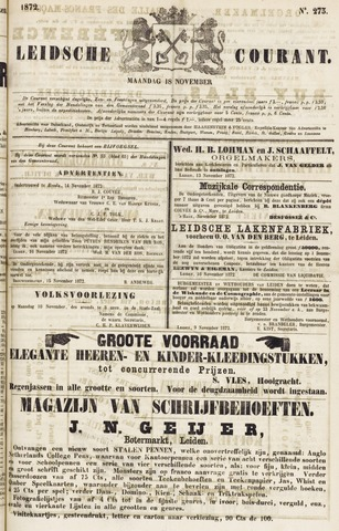 Leydse Courant 1872-11-18