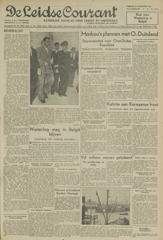 Leidse Courant 1950-08-25