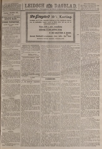 Leidsch Dagblad 1919-11-01